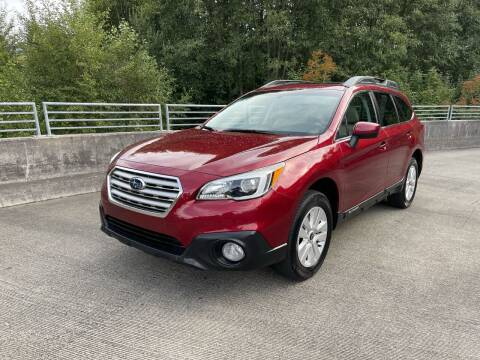 2015 Subaru Outback for sale at Zipstar Auto Sales in Lynnwood WA