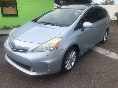 2014 Toyota Prius v for sale at Florida Coach Trader Inc in Tampa FL