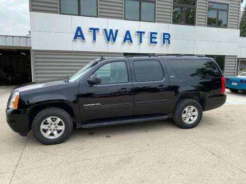2013 GMC Yukon XL for sale at Atwater Ford Inc in Atwater MN