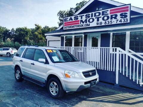 2004 Honda Pilot for sale at EASTSIDE MOTORS in Tulsa OK