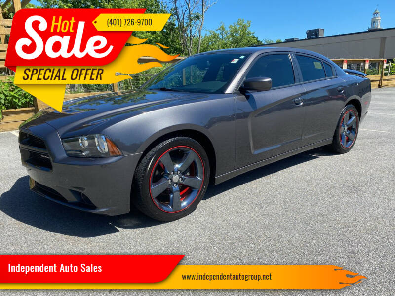 2014 Dodge Charger for sale at Independent Auto Sales in Pawtucket RI