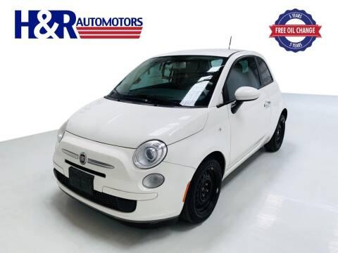 2013 FIAT 500 for sale at H&R Auto Motors in San Antonio TX