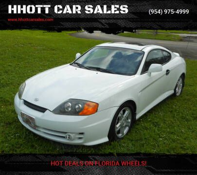 2003 Hyundai Tiburon for sale at HHOTT CAR SALES in Deerfield Beach FL