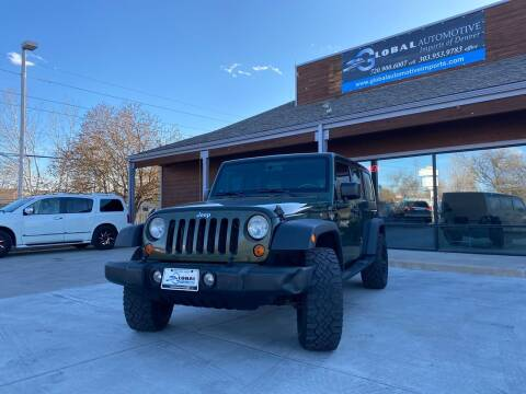 2007 Jeep Wrangler Unlimited for sale at Global Automotive Imports in Denver CO