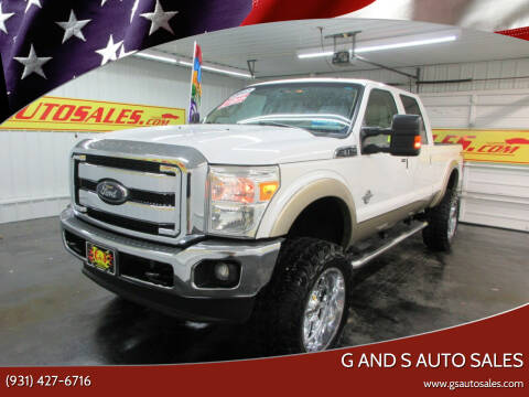 2012 Ford F-250 Super Duty for sale at G and S Auto Sales in Ardmore TN