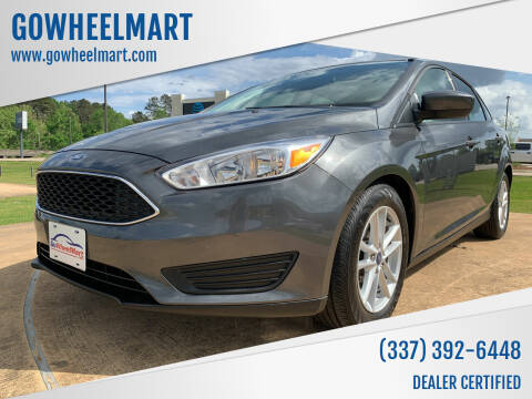 2018 Ford Focus for sale at GOWHEELMART in Leesville LA