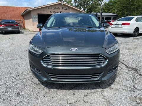 2015 Ford Fusion for sale at Auto Mart in North Charleston SC
