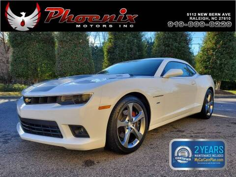 2014 Chevrolet Camaro for sale at Phoenix Motors Inc in Raleigh NC
