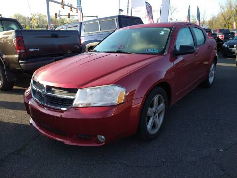 2008 Dodge Avenger for sale at P J McCafferty Inc in Langhorne PA