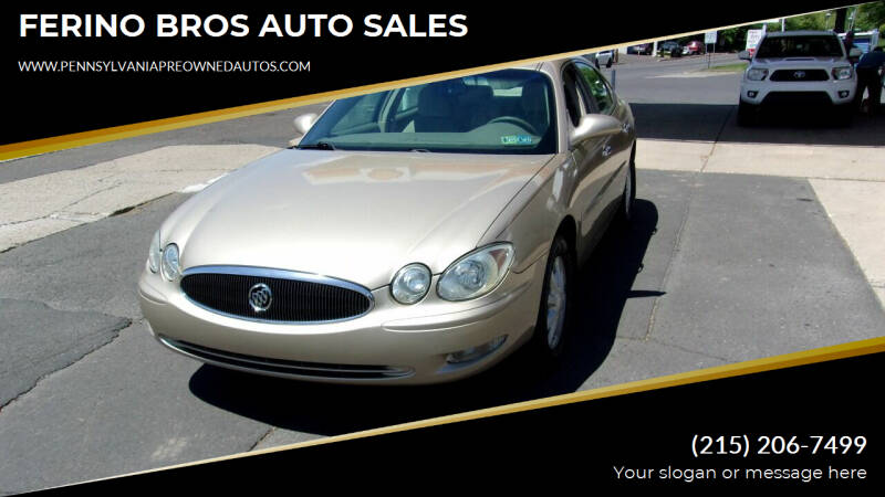 2005 Buick LaCrosse for sale in Wrightstown, PA