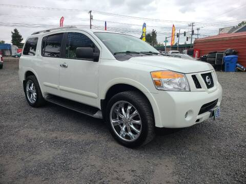 2014 Nissan Armada for sale at Universal Auto Sales in Salem OR