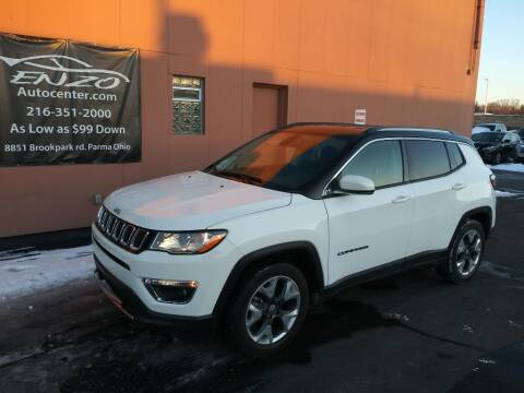 2020 Jeep Compass for sale at ENZO AUTO in Parma OH