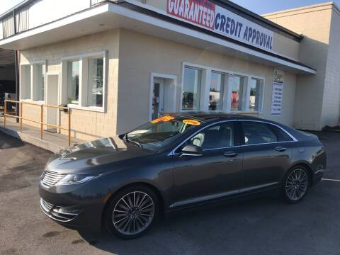 2016 Lincoln MKZ for sale at Suarez Auto Sales in Port Huron MI