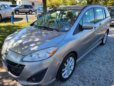 2012 Mazda MAZDA5 for sale at Lake Ridge Auto Sales in Woodbridge VA