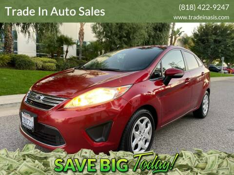 2013 Ford Fiesta for sale at Trade In Auto Sales in Van Nuys CA