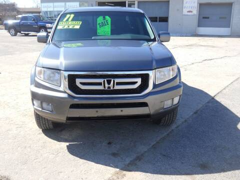 2011 Honda Ridgeline for sale at Shaw Motor Sales in Kalkaska MI