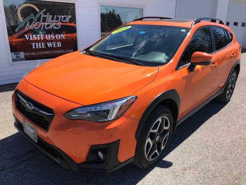 2018 Subaru Crosstrek for sale at HILLTOP MOTORS INC in Caribou ME