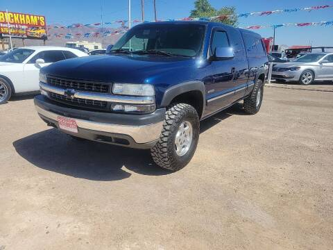 2001 Chevrolet Silverado 1500 for sale at Bickham Used Cars in Alamogordo NM