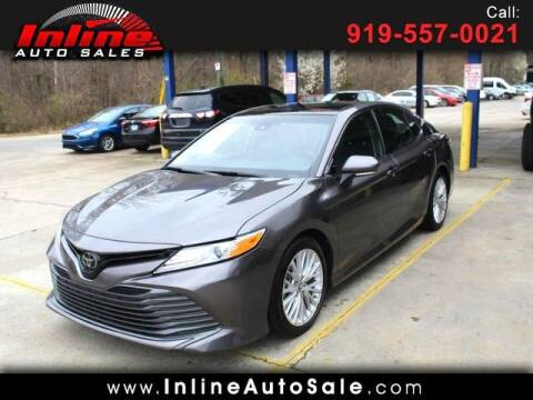 2019 Toyota Camry for sale at Inline Auto Sales in Fuquay Varina NC