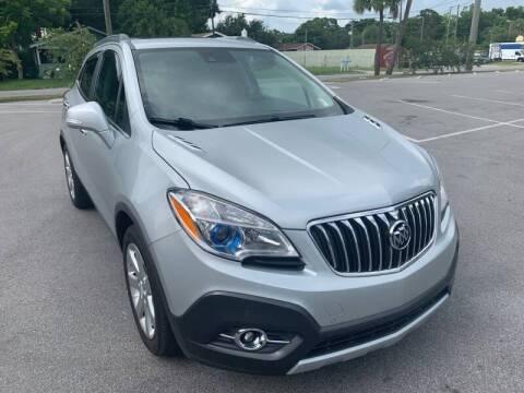 2015 Buick Encore for sale at Consumer Auto Credit in Tampa FL