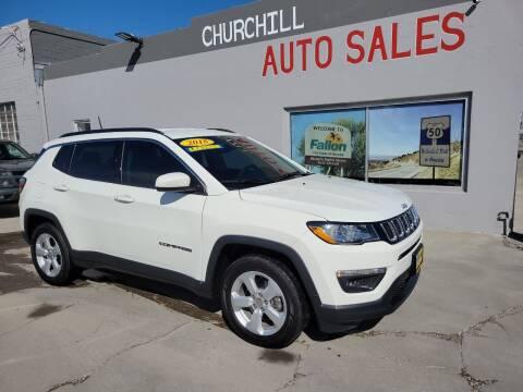2018 Jeep Compass for sale at CHURCHILL AUTO SALES in Fallon NV