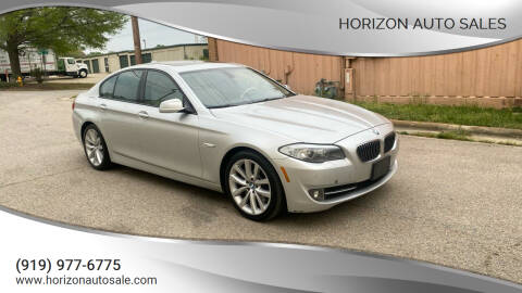 2011 BMW 5 Series for sale at Horizon Auto Sales in Raleigh NC