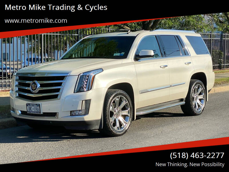 2015 Cadillac Escalade for sale at Metro Mike Trading & Cycles in Albany NY