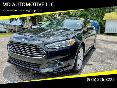 2014 Ford Fusion for sale at MD AUTOMOTIVE LLC in Slidell LA