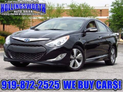 2012 Hyundai Sonata Hybrid for sale at Hollingsworth Auto Sales in Raleigh NC
