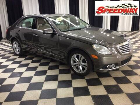 2010 Mercedes-Benz E-Class for sale at SPEEDWAY AUTO MALL INC in Machesney Park IL