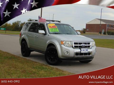 2010 Ford Escape for sale at AUTO VILLAGE LLC in Lebanon TN