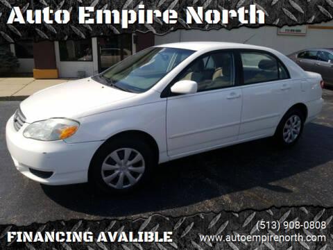 2003 Toyota Corolla for sale at Auto Empire North in Cincinnati OH