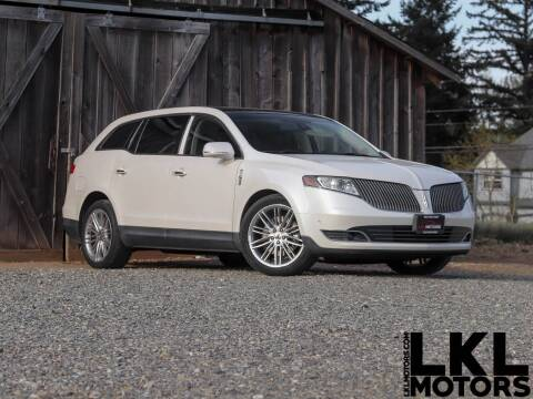 2013 Lincoln MKT for sale at LKL Motors in Puyallup WA