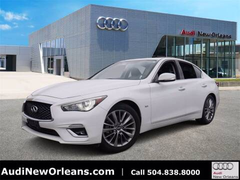 2018 Infiniti Q50 for sale at Metairie Preowned Superstore in Metairie LA