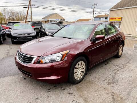 2010 Honda Accord for sale at Dijie Auto Sale and Service Co. in Johnston RI