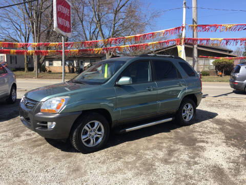 2007 Kia Sportage for sale at Antique Motors in Plymouth IN
