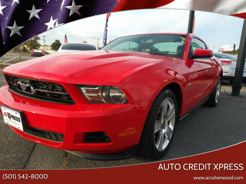 2011 Ford Mustang for sale at Auto Credit Xpress in North Little Rock AR