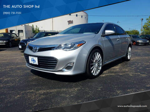 2014 Toyota Avalon for sale at THE AUTO SHOP ltd in Appleton WI