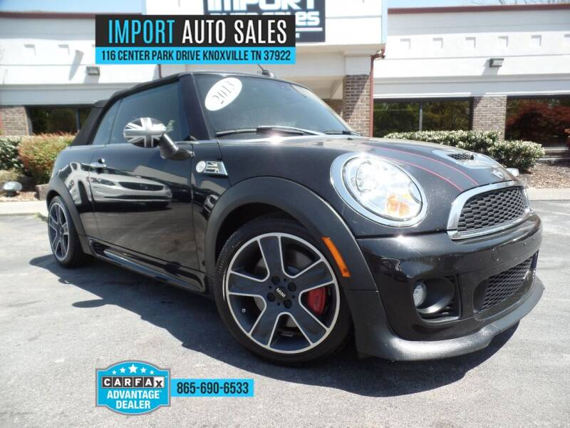 2013 MINI Convertible for sale at IMPORT AUTO SALES in Knoxville TN