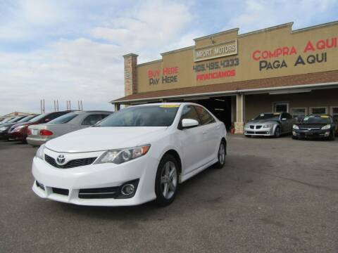 2014 Toyota Camry for sale at Import Motors in Bethany OK