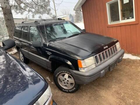 1995 Jeep Grand Cherokee for sale at Four Boys Motorsports in Wadena MN