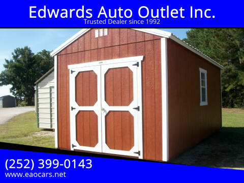 2020 Old Hickory Buildings 10x20 Utility Barn for sale at Edwards Auto Outlet Inc. in Wilson NC