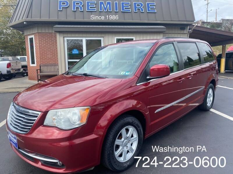 2012 Chrysler Town and Country for sale at Premiere Auto Sales in Washington PA