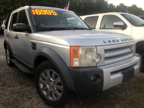 2006 Land Rover LR3 for sale at The Car Guys in Hyannis MA