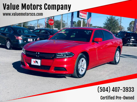 2016 Dodge Charger for sale at Value Motors Company in Marrero LA