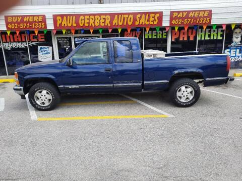 1995 Chevrolet C/K 1500 Series for sale at Paul Gerber Auto Sales in Omaha NE