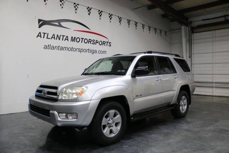 2005 Toyota 4Runner for sale at Atlanta Motorsports in Roswell GA