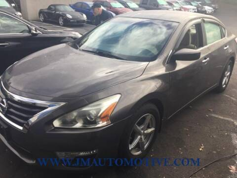 2014 Nissan Altima for sale at J & M Automotive in Naugatuck CT