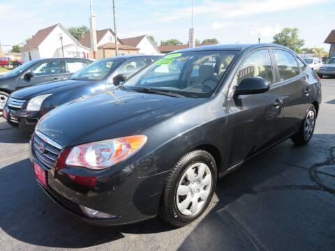 2009 Hyundai Elantra for sale at Bells Auto Sales in Hammond IN