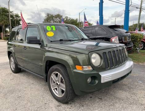 2007 Jeep Patriot for sale at AUTO PROVIDER in Fort Lauderdale FL
